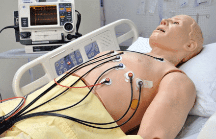 Defibrylacja/monitorowanie EKG