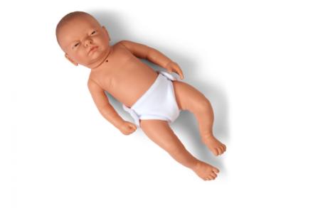 Trenażer do nauki pielęgnacji tracheotomii u niemowlęcia