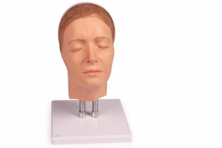 Model twarzy do nauki iniekcji, wersja A